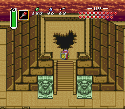 Legend of Zelda, The - A Link to the Past - the final battle!  - User Screenshot